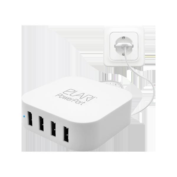 Сетевой USB-хаб ELARI PowerPort Mini фото