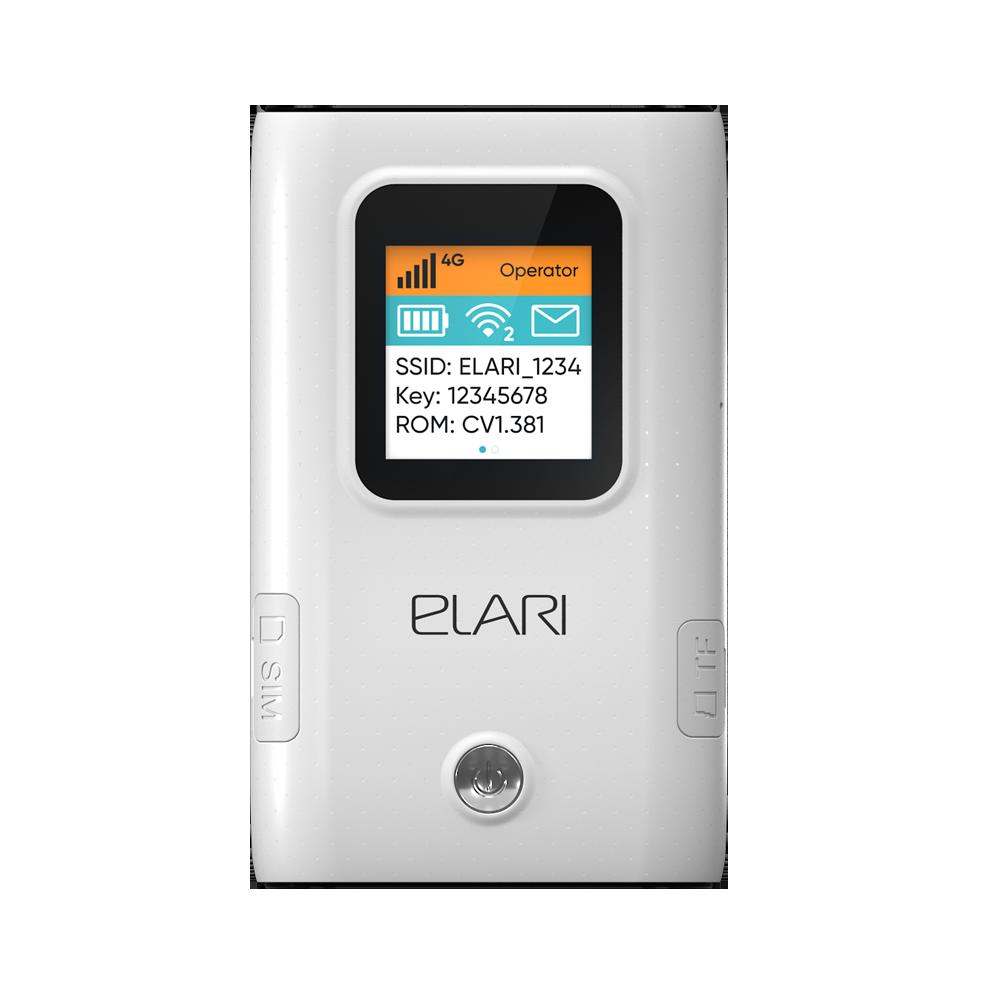 Портативный роутер ELARI SmartWiFi фото