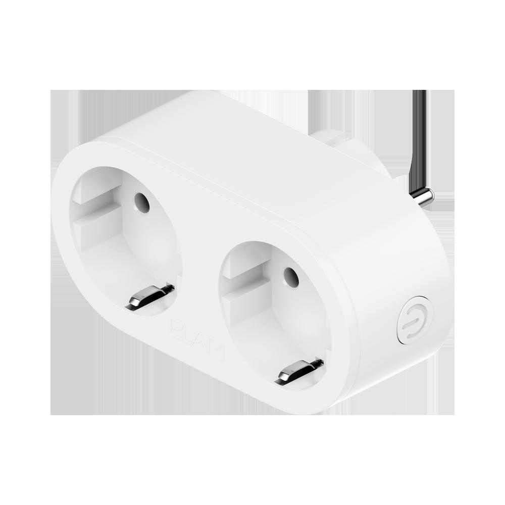 Умная двойная розетка ELARI Dual Smart Socket