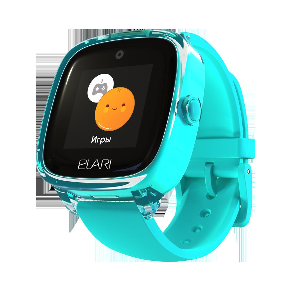 Яркие водонепроницаемые детские часы-телефон KidPhone Fresh ELARI