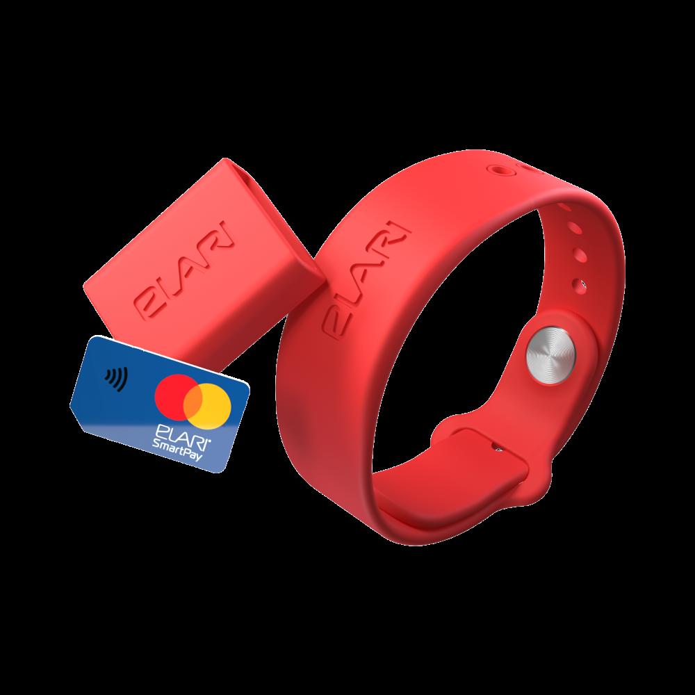 NFC-браслет ELARI SmartPay Кошелёк на руке фото