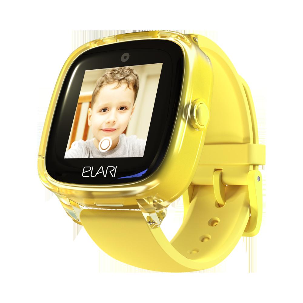 Яркие водонепроницаемые детские часы-телефон KidPhone Fresh фото